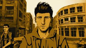 Ari Folman in Beirut, from Waltz with Bashir