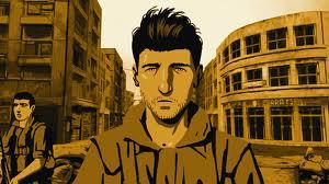 Ari Folman in Beirut, from Waltz with Bashir