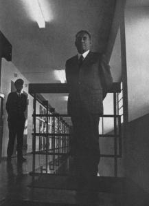Franz Stangl in prison in Dusseldorf