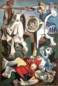 Picasso's Rape of the Sabine Women