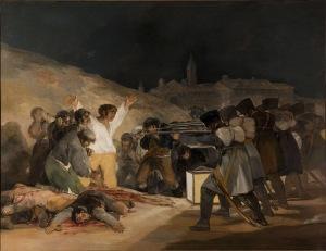 Goya's Shootings of the third of May